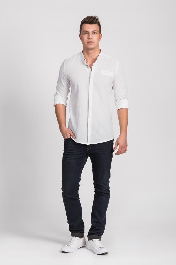Koszule męskie białe - Repablo